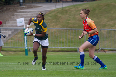 Game 05 WSWS 2016 Qualification Tournament- UCD Bowl, Dublin Pool C 22/8/15 12:28 South Africa v Hong Kong