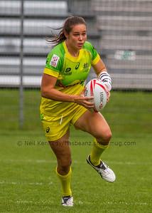 Australia 7s Chloe Dalton