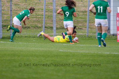 Try for Australia 7s Tiana Penitani