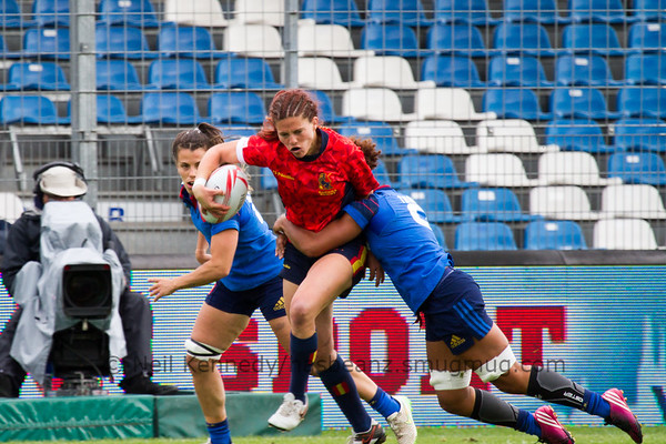 2015/16 HSBC World Rugby Women's Sevens Series - Clermont-Ferrand, Plate Semi Finals, Match 26 FRANCE v SPAIN (LOSER GAME 20 v LOSER GAME 21) May 29th 2016 16:09 ko Stade Gabriel Montpied, Clermont-Ferrand, France
