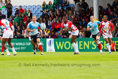 RUSSIA 7s v MADAGASCAR 7s, Day 1, June 25th, 2016 Olympic Repechage Womens, Pool A , Match 6,11:50, UCD  Bowl, Dublin