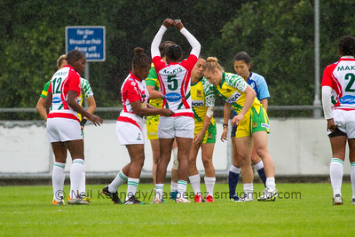 MADAGASCAR 7s v COOK ISLANDS 7s, Day 2, June 26th, 2016 Olympic Repechage Womens, Challenge Trophy Quarter Finals, Match 25,10:00, UCD  Bowl, Dublin