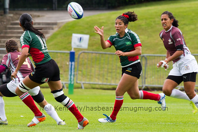 MEXICO 7s v VENEZUELA 7s, Day 1, June 25th, 2016 Olympic Repechage Women?s, Pool B , Match 3,10:44, UCD  Bowl, Dublin