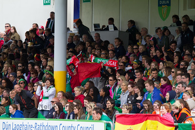 IRELAND 7s v PORTUGAL 7s, Day 1, June 25th, 2016 Olympic Repechage Womens, Pool C , Match 16,15:40, UCD  Bowl, Dublin