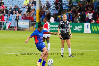 MADAGASCAR 7s v SAMOA 7s, Day 1, June 25th, 2016 Olympic Repechage Womens,  UCD  Bowl, Dublin