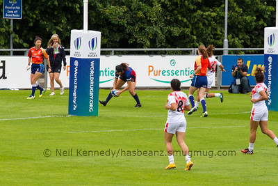 SPAIN 7s v TUNISIA 7s, Day 1, June 25th, 2016 Olympic Repechage Womens, Pool B , Match 4,11:06, UCD  Bowl, Dublin