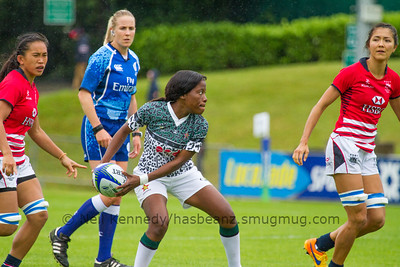 HONG KONG 7S v ZIMBABWE 7s, Day 2, June 26th, 2016 Olympic Repechage Womens, Challenge Trophy Quarter Finals, Match 27,10:44, UCD  Bowl, Dublin