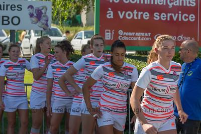 Women's Grand Prix 7s, 1st of 2 Tournaments, Malemort-sur-Correze, France, Stade Raymond Faucher, 17-18 June 2017 POOL3, ENGLAND 45 v 0 PORTUGAL
