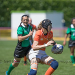 Women's Grand Prix 7s, 1st of 2 Tournaments, Malemort-sur-Correze, France, Stade Raymond Faucher, 17-18 June 2017 TROPHY 3rd, PORTUGAL 26 v 19 NEDERLANDS