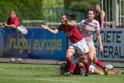 Women's Grand Prix 7s, 1st of 2 Tournaments, Malemort-sur-Correze, France, Stade Raymond Faucher, 17-18 June 2017 POOL3, ENGLAND 45 v 0 PORTUGAL
