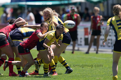 Women's Grand Prix 7s, 1st of 2 Tournaments, Malemort-sur-Correze, France, Stade Raymond Faucher, 17-18 June 2017 POOL2, WALES 24 v 12 SWEDEN
