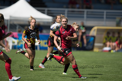 Women's Grand Prix 7s, 1st of 2 Tournaments, Malemort-sur-Correze, France, Stade Raymond Faucher, 17-18 June 2017 POOL2, WALES 28 v 0 BELGIUM