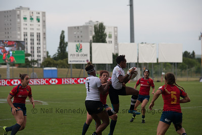 World Rugby Women's Sevens Final Round 2016-17 Season, Clermont-Ferrand, France