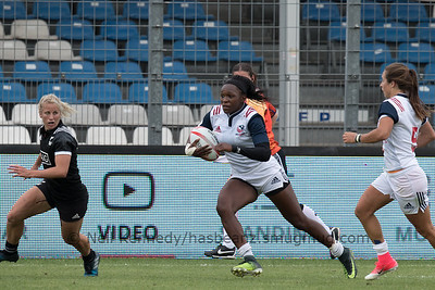 HSBC World Rugby Women's Sevens Series 2016-17- Clermont-Ferrand, Pool, Match 14, NEW ZEALAND 7S V USA 7S, 17:50, Stade Gabriel Montpied, Clermont Ferrand
