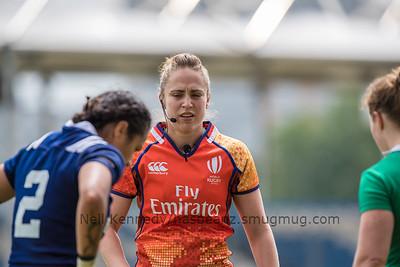 Sara Cox tlks to Captains