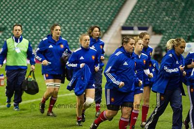 Autmn International England Women v France Women, Twickenham Stadium, London 9th November 2013