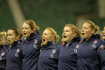 Autmn International England Women v France Women, Twickenham Stadium, London 9th November 2013