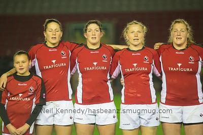 Autmn International England Women v Canada Women, 13th November 2013, Harlequins Stoop Ground, London