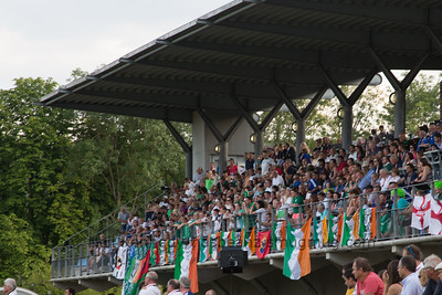 140805 IRE v NZL celebrations for Ireland