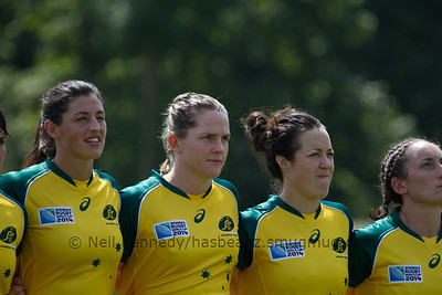 Game 8, Marcoussis 2, Round 2 Pool C: Australia - Wales, 15:00, 05 Aug 2014