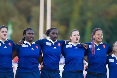 Game 18, Marcoussis 1, Round 3 Pool C: Australia - France, 20:45, 09 Aug 2014 Women's Rugby World Cup 2014