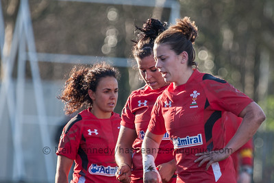 Left to right: Amy Day, Shona Powell-Hughes, Sioned Harries