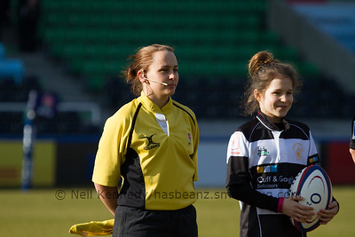 Assistant Referee Nikki O'Donnell
