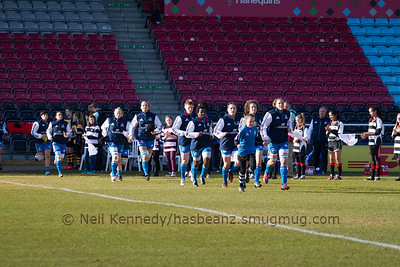 the Italy team take the field