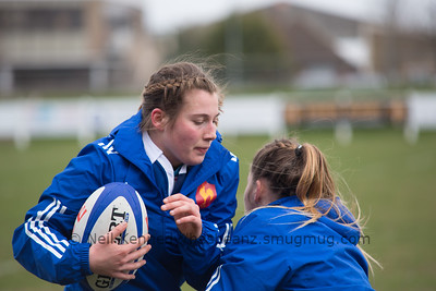 2014-15 Womens u20 Eng v Fra at Esher RFC, London, March 21st  2015