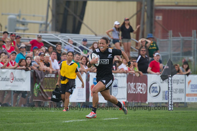 Game 02 Canada Super Series Day 1 27/06/15 18:30 Canada v New Zealand, 2015 Women's Rugby Super Series, Calgary Rugby Park, Calgary, Alberta, Canada