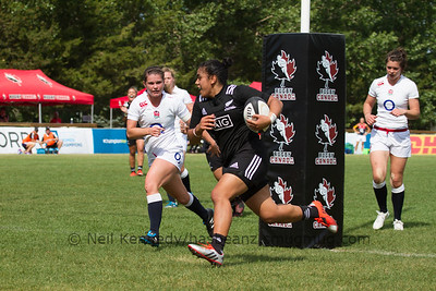 Victoria Subritzky-Nafatali across the line for the try