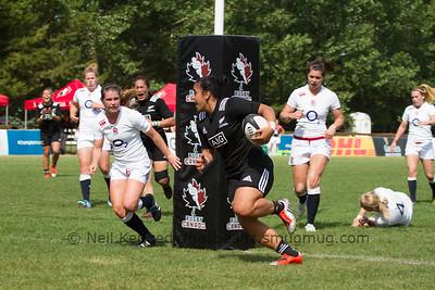 Victoria Subritzky-Nafatali heads under the posts to score
