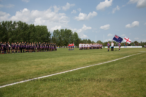 Game 03 Canada Super Series Day 2 01/07/15 England v New Zealand, 2015 Women's Rugby Super Series, Red Deer Rugby Park, Red Deer, Alberta, Canada
