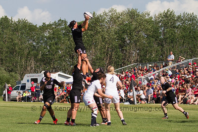 Lineout taken by Charmaine Smith
