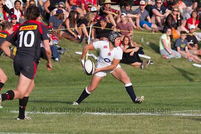 Bianca Blackburn passing
