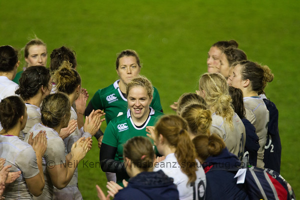 Autumn International, England Ladies v Ireland, Twickenham Stoop 14th November 2015