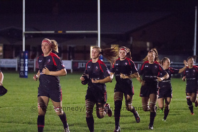 Autumn International, England Ladies Dev Squad v Canada's Maple Leafs, Esher RFC 1st December 2015