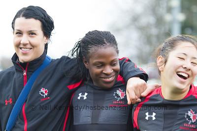 Autumn International, England Ladies Dev Squad v Canada's Maple Leafs, Esher RFC 5th December 2015