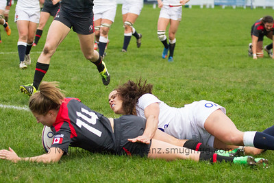 Frederique Rajotte scores third try for Canada