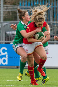 Ireland Women v Wales Women, Ladies 6 Nations Round 1, Donnybrook Stadium, Dublin, Ireland.  6th February 2016