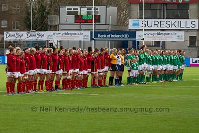 Ireland Women v Wales Women 2016