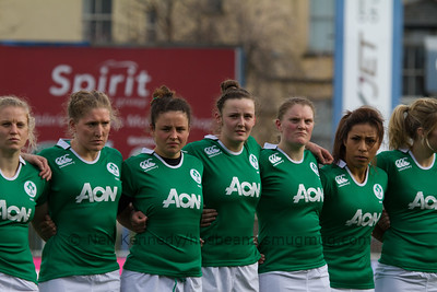Claire Molloy, Heather O'Brien, Larissa Muldoon, Nikki Caughey, Mairead Coyne, Sene Naoupu