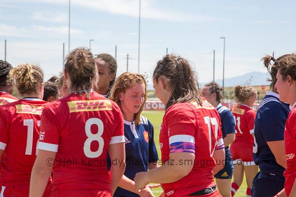 Canada vs. France, Women's Rugby Super Series, Game 5, Regional Athletics Complex, Salt Lake City, Saturday, July 9