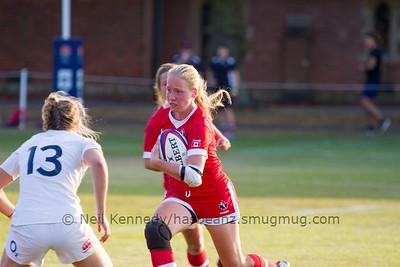 England Women u20 v Canada Women u20, Trent College, Nottingham, 18th August 2016