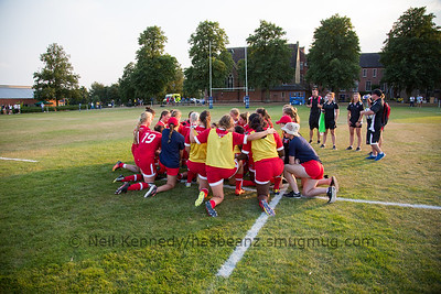 Post match huddle RugbyCanada
