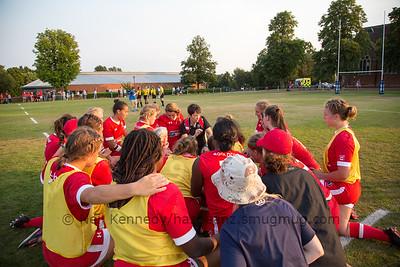 Post match team talk - Canada