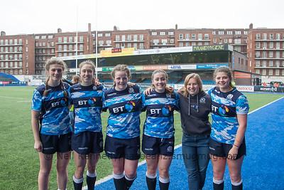 Helen Nelson, Rhona Lloyd, Katie Dougan, Lucy Park, Sarah Law, Lisa Thomson