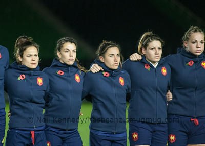 L to R: Camille Grassineau,  Elodie Guiglion, Camille Cabalou, Gaelle Hermet,  Romane Menager