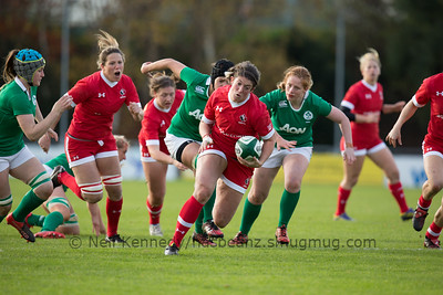 Ireland Women v Canada Women, Autumn International, University College Dublin Bowl, 19th November 2016