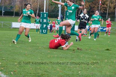 Ireland Women v Canada Women, Autumn International, University College Dublin Bowl, 19th November 2016